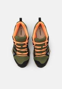 adidas Performance - TERREX AX2R - Hiking shoes - wild pine/core black/screaming orange - 3