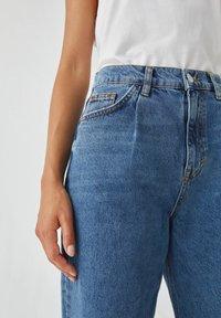 PULL&BEAR - Jeans Straight Leg - blue denim - 4