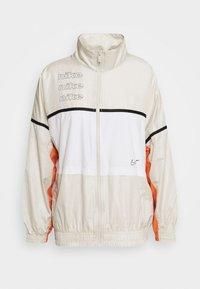 ARCHIVE RMX - Sports jacket - light bone/white/healing orange