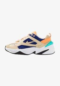 Nike Sportswear - M2K TEKNO - Trainers - desert ore/deep royal blue/fuel orange/hyper jade/black - 1