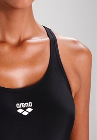 Arena - DYNAMO ONE PIECE - Swimsuit - black - 3