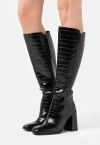 CAFèNOIR - High heeled boots - nero - 0