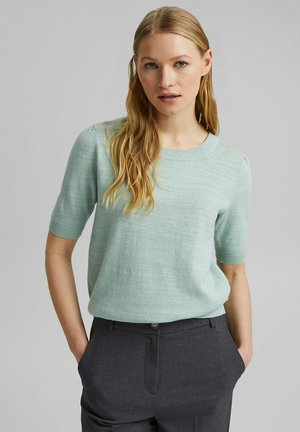 Basic T-shirt - light aqua green