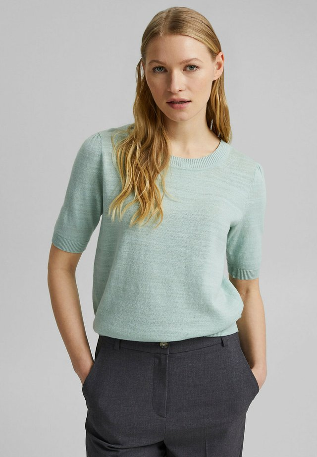 T-shirt basic - light aqua green