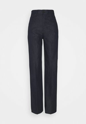 DECK ULTRA HIGH WIDE LEG - Flared jeans - raw denim