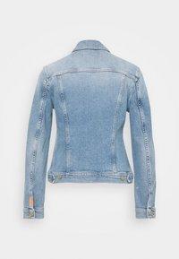 7 for all mankind - MODERN TRUCKER LUXE VINTAGE SKYWALK - Denim jacket - light blue - 1