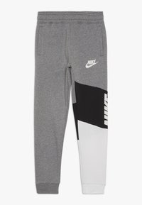 Nike Sportswear - CORE AMPLIFY PANT - Pantalones deportivos - carbon heather/black/white - 0
