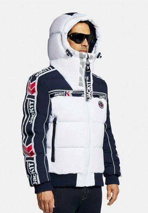 Down jacket - navy/white
