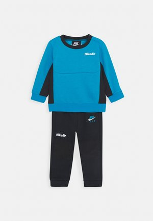 AIR CREW SET - Tracksuit - black/laser blue