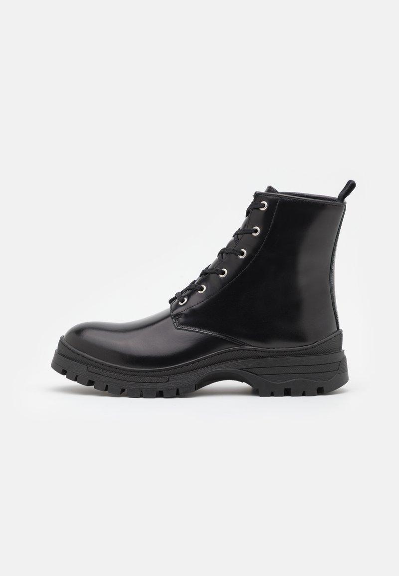 Selected Homme - SLHBRODY BOOT - Šněrovací kotníkové boty - black