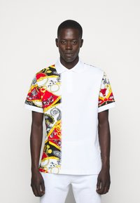 Versace Jeans Couture - PRINT BELT PAISLEY - Polo shirt - rosso - 0