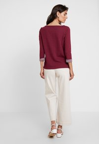 s.Oliver - 3/4 ARM - Long sleeved top - jewel red - 2