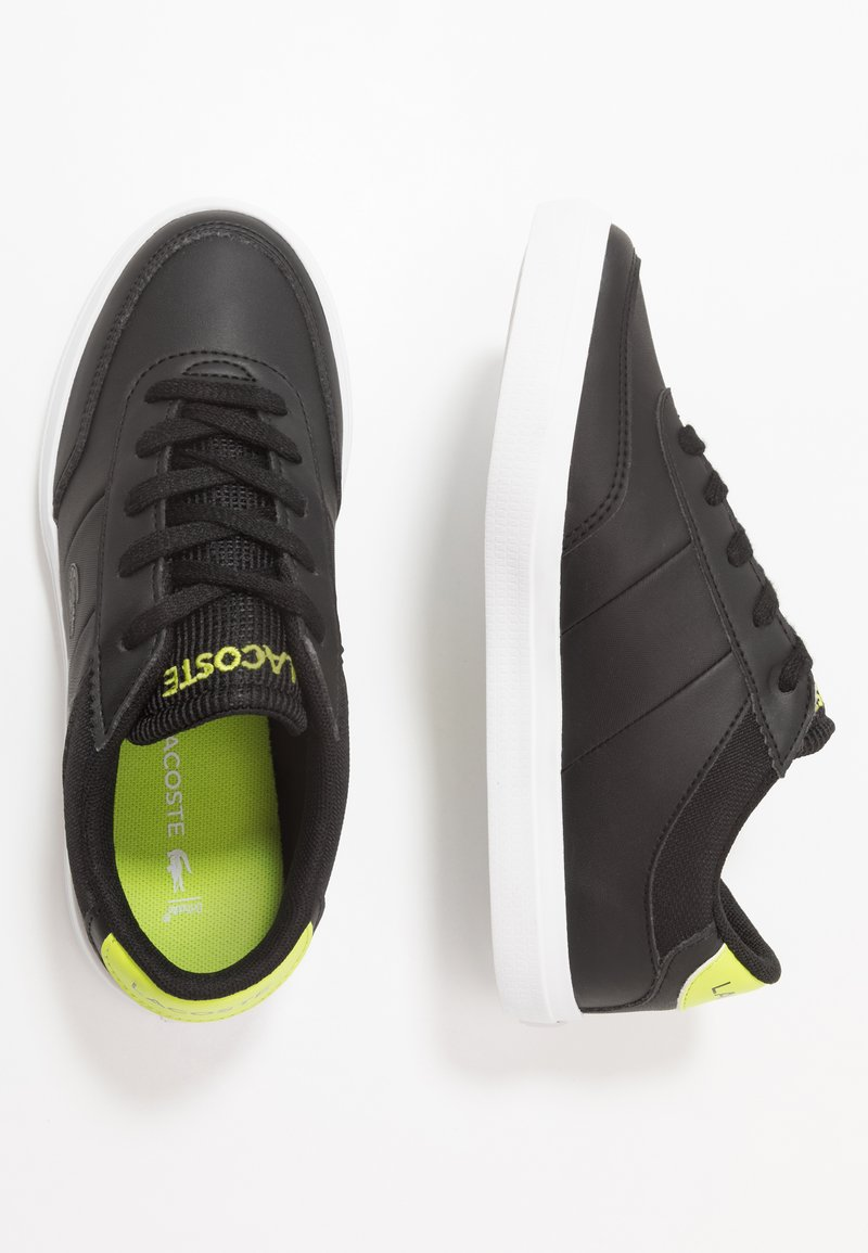 Lacoste - COURT-MASTER - Trainers - black/light green