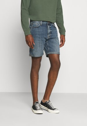 JOSH - Denim shorts - indigo flow