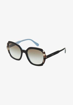 Sunglasses - black azure/spotted brown