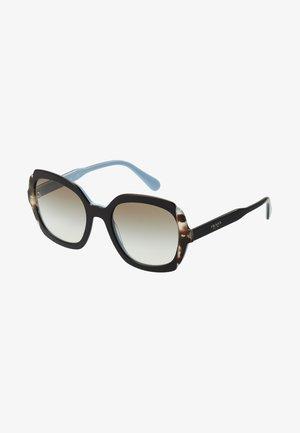 Okulary przeciwsłoneczne - black azure/spotted brown