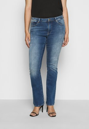 CARBAROLL LIFE - Jeans bootcut - medium blue denim