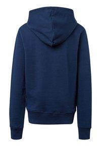 TOM TAILOR - MIT PRINT - Hoodie - dress blue - 1