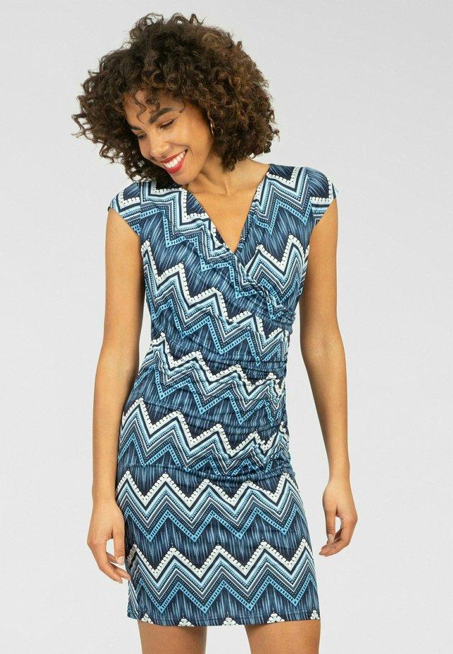 Sukienka etui - blau