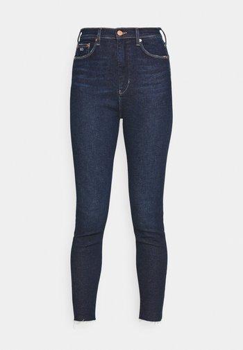 MELANY UHR ANKLE - Jeans Skinny Fit - fjord