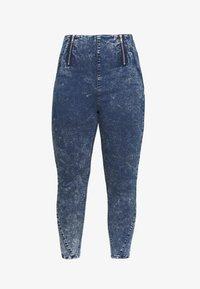Simply Be - SHAPER JEGGING - Jeans Skinny Fit - blue acid - 4
