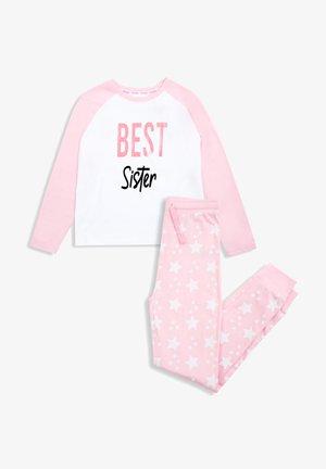 Pyjama - pink, white