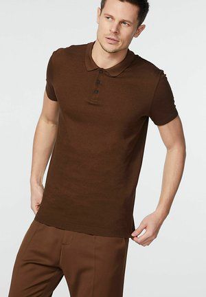 Poloshirt - moka
