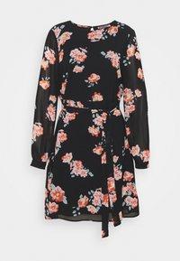 Anna Field - Day dress - black/pink - 3