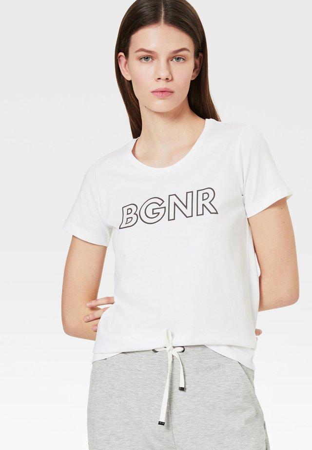 BOGNER LINN - T-shirt basique - weiß