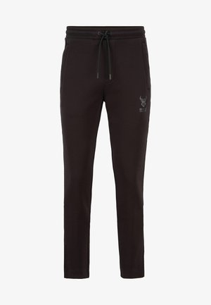HELOX - Tracksuit bottoms - black