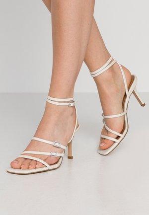 EVERLY - High heeled sandals - prestine