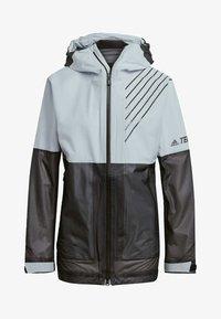 TERREX3-LAYER ZUPAHIKE - Waterproof jacket - blue