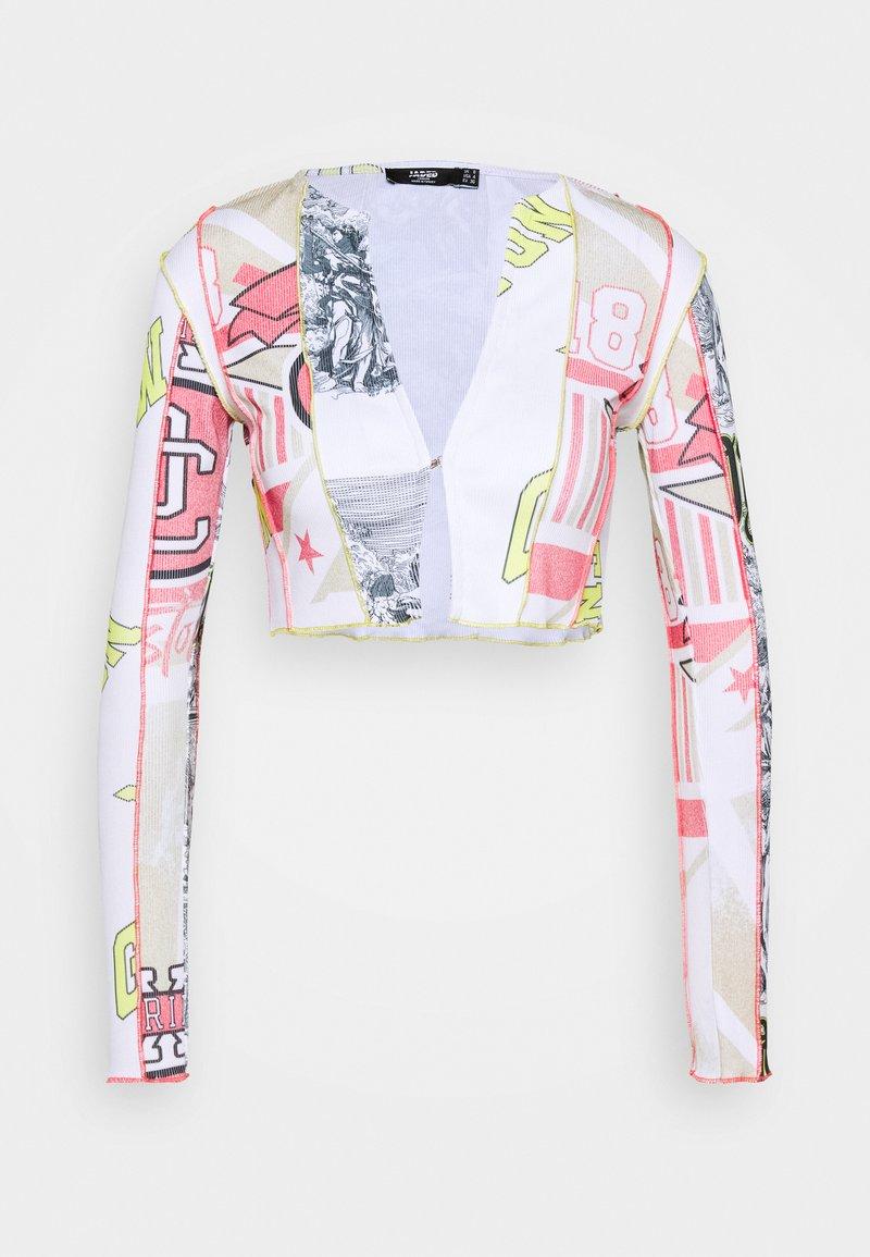 Jaded London - CUT & SEW WITH BABYLOCK DETAIL - Lett jakke - multi-coloured