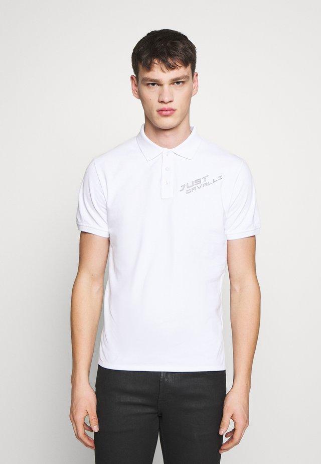 LOGO - Polo shirt - white