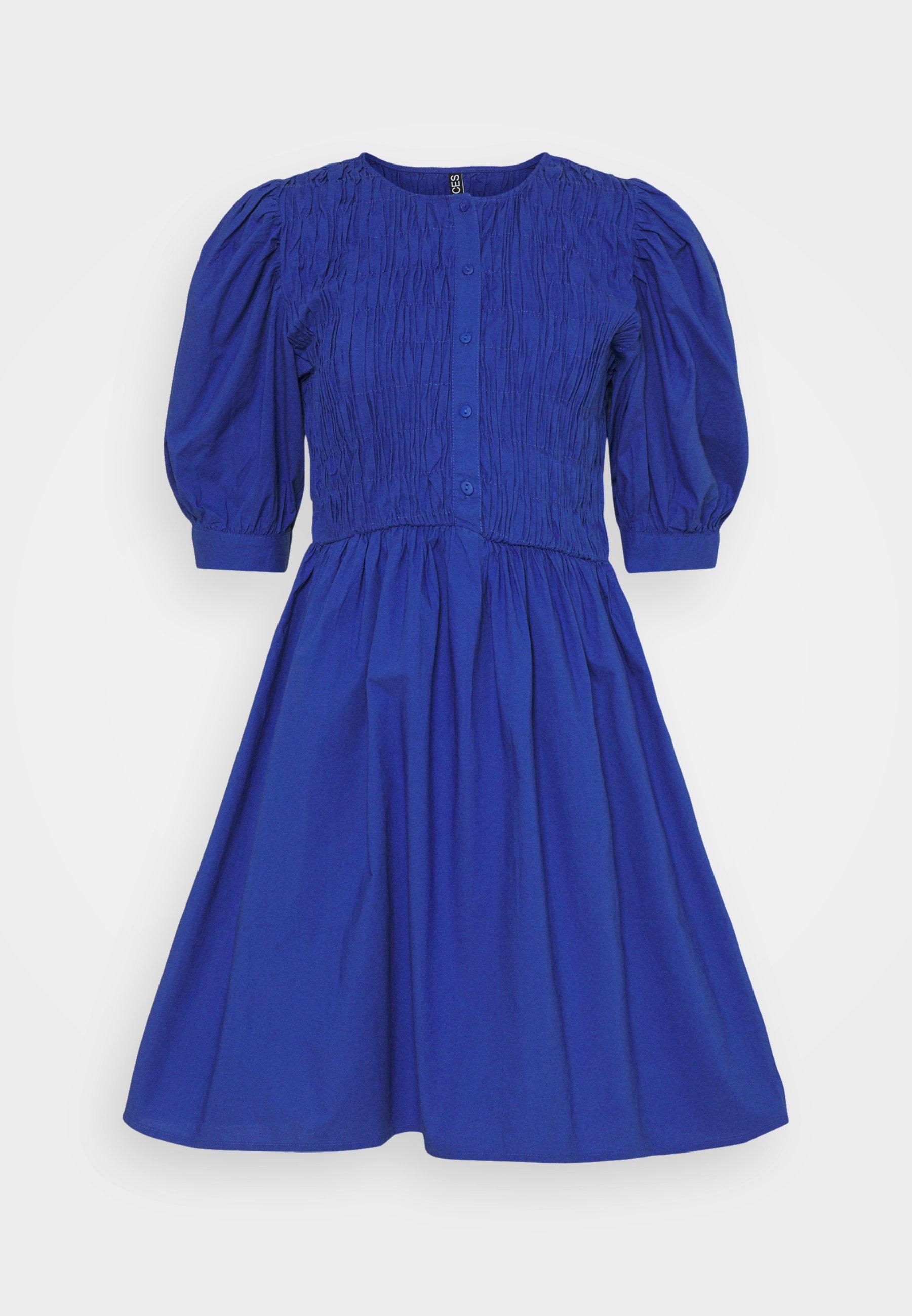 Women PCTALEAH SMOCK DRESS - Day dress