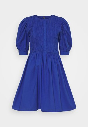 PCTALEAH SMOCK DRESS - Day dress - deep ultramarine