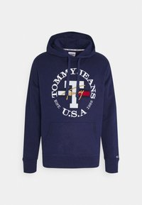 Tommy Jeans - TIMELESS HOODIE UNISEX - Felpa - nightfall - 5