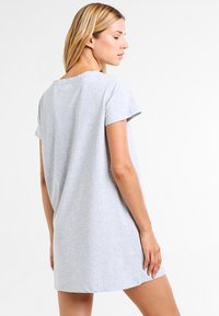 Zalando Essentials - 2 PACK - Nightie - black/light grey - 2