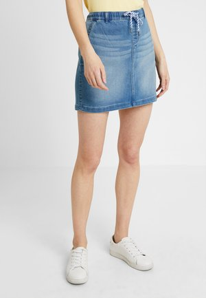 JOGG SKIRT - Jeansrock - blue medium wash