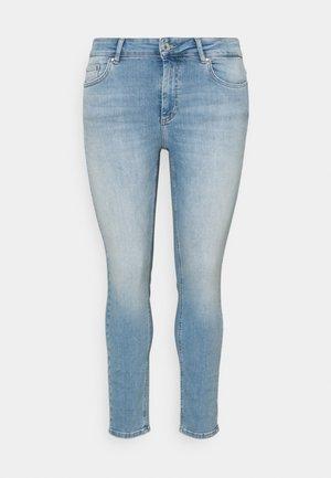 CARWILLY LIFE  - Jeans Skinny Fit - light blue denim