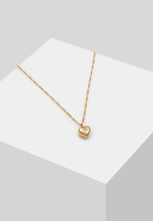 HERZ  - Necklace - gold-colored