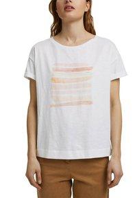 Esprit - Print T-shirt - white colorway - 5