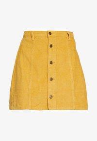 MINKPINK - LAPS AROUND THE SUN MINI SKIRT - A-line skirt - golden yellow - 4