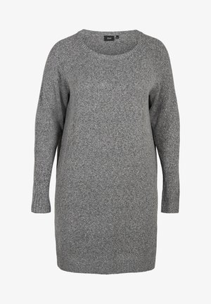 Jumper dress - dark grey