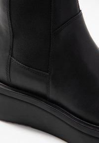 Vagabond - TARA - Wedge Ankle Boots - black - 4