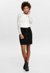 JDY - Mini skirt - black - 1