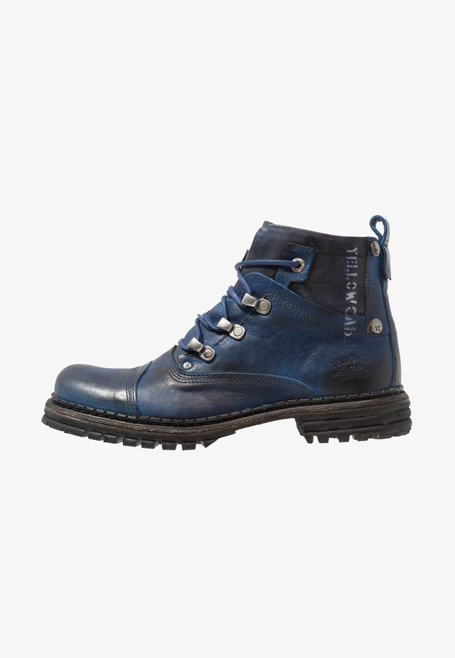 SERGEANT - Lace-up ankle boots - blue
