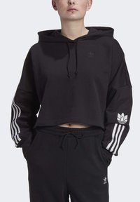 adidas Originals - Jersey con capucha - black/white - 4