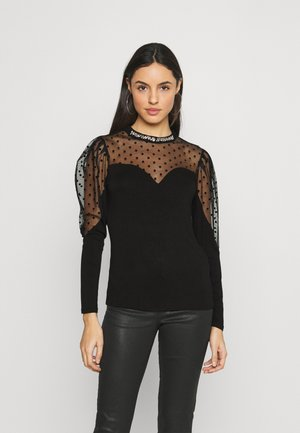 TEPOI - Long sleeved top - noir