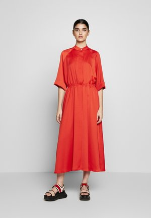 JUDE DRESS - Day dress - bride red